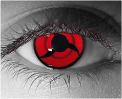 Real Sharingan Eye Contacts Naruto mangekyou sharingan eye