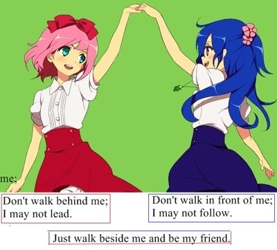 anime friendship quotes quotesgram