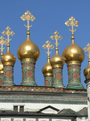 Golden Domes in Moscow