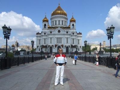 The Cathedral of Christ the Saviour (Russian: Храм Христа Спасителя)