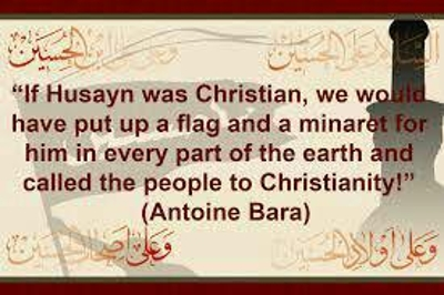 Imam Hussain was martyred in Karbala land