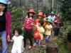 At butterfly garden..