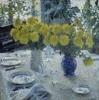 Russian impressionism. I.Grabar. Chrusanthemum.