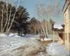 Russian impressionism.I. Levitan. March.