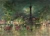 Russian impressionism. k. Korovin. Bastilia.