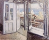 Russian impressionism. K. Korovin. The balcony in Crimea.