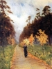 Russian impressionism. I. Levitan. the Autumn Day.
