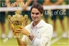 congratulation Roger He backs to the number one over the world 17 title In grand slam