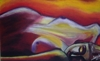 Drowsiness 30x50 Canvas oil painting