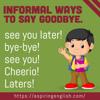 """""""Saying Goodbye"""""""