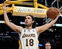 """""""The Machine"""" - Sasha Vujacic of the Lakers"""