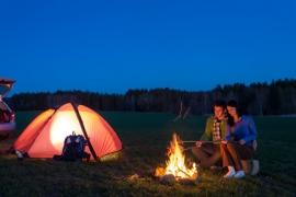camping mening