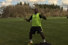 Trapping - Futty Danso of Timbers FC
