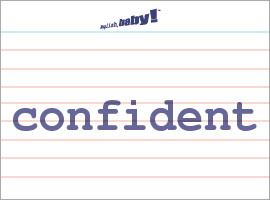 what does unconfident mean