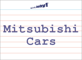 "what does ""mitsubishi cars"" mean? 