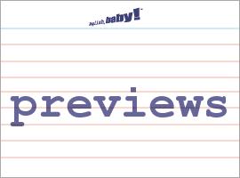 Vocabulary Word: previews