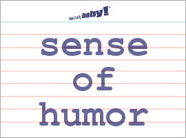 What does humorous mean