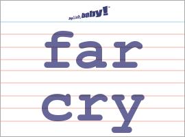Vocabulary Word: far cry