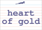 Vocabulary Word: heart-of-gold