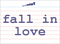 Vocabulary Word: fall-in-love