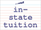 Vocabulary Word: in-state-tuition